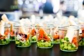 Gesunder Sack im Glas, Cateringbeispiel