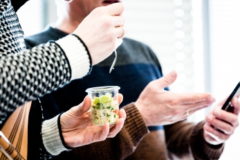 Couscous im Glas, Cateringbeispiel